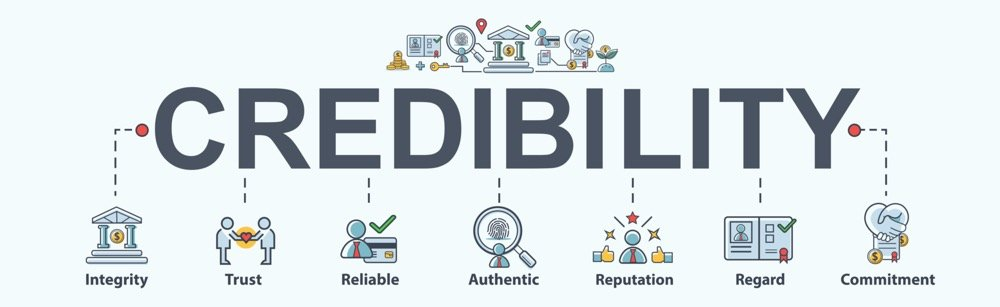 The Power of One's Brand Credibility