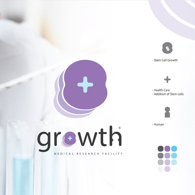Joshua A Hayes_Brand Identity Project_Growth Medical Research Facility